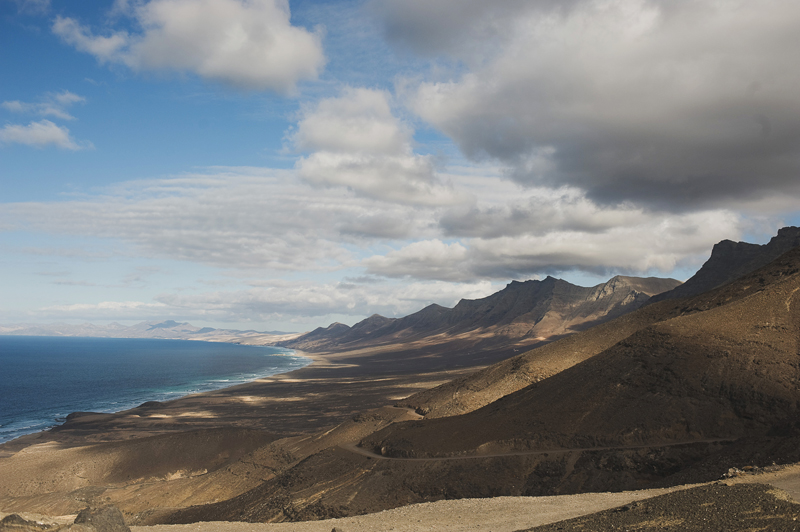 views of Cofete, fuerteventura